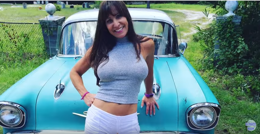 Chevy Muscle Cars >> Gorgeous 50 year old Farm girl drives an equally Gorgeous '57 Chevy – Muscle Cars Zone