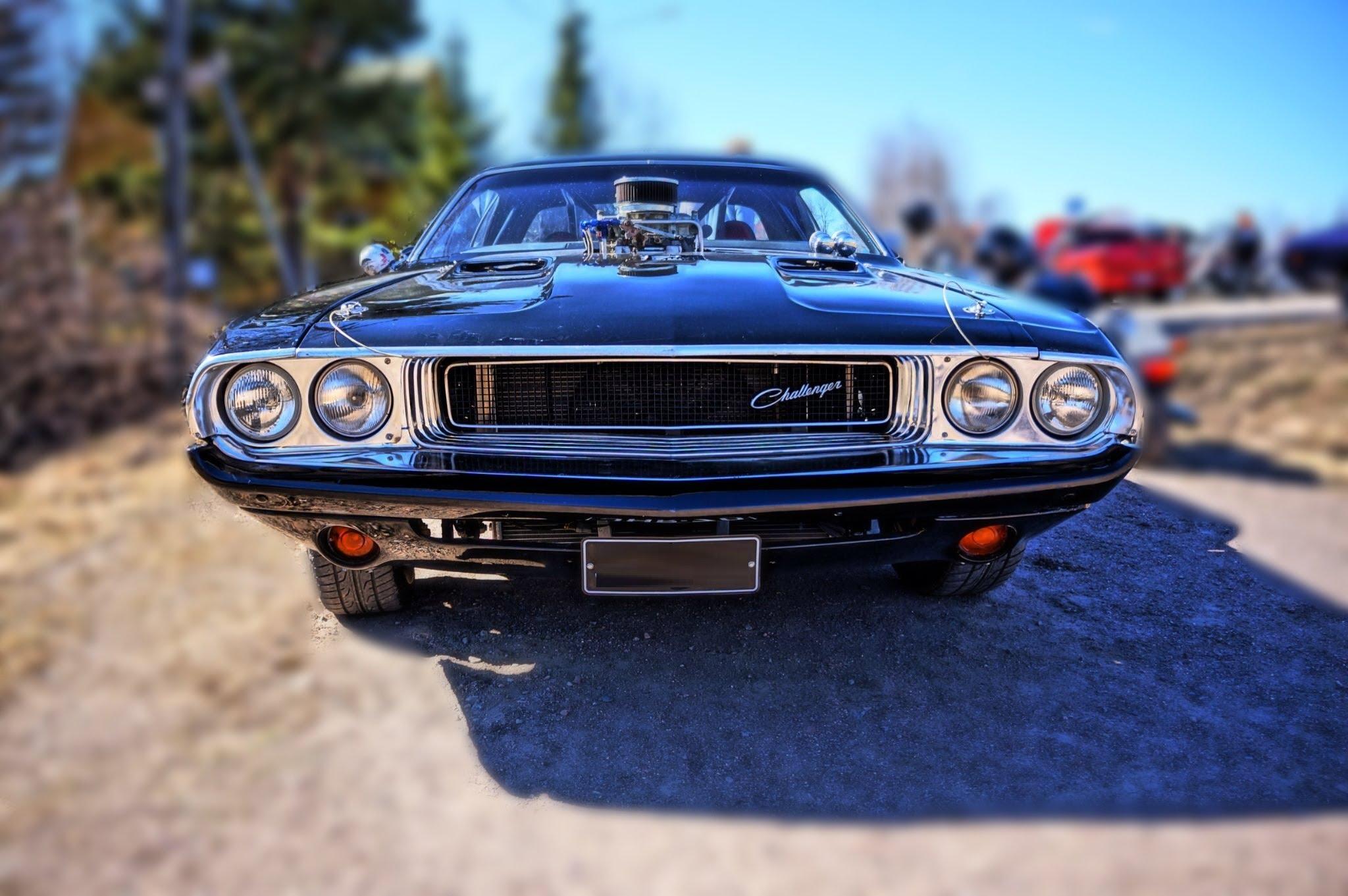 Custom 1970 Dodge Challenger V8 Sound Mopar Muscle Car Muscle Cars Zone