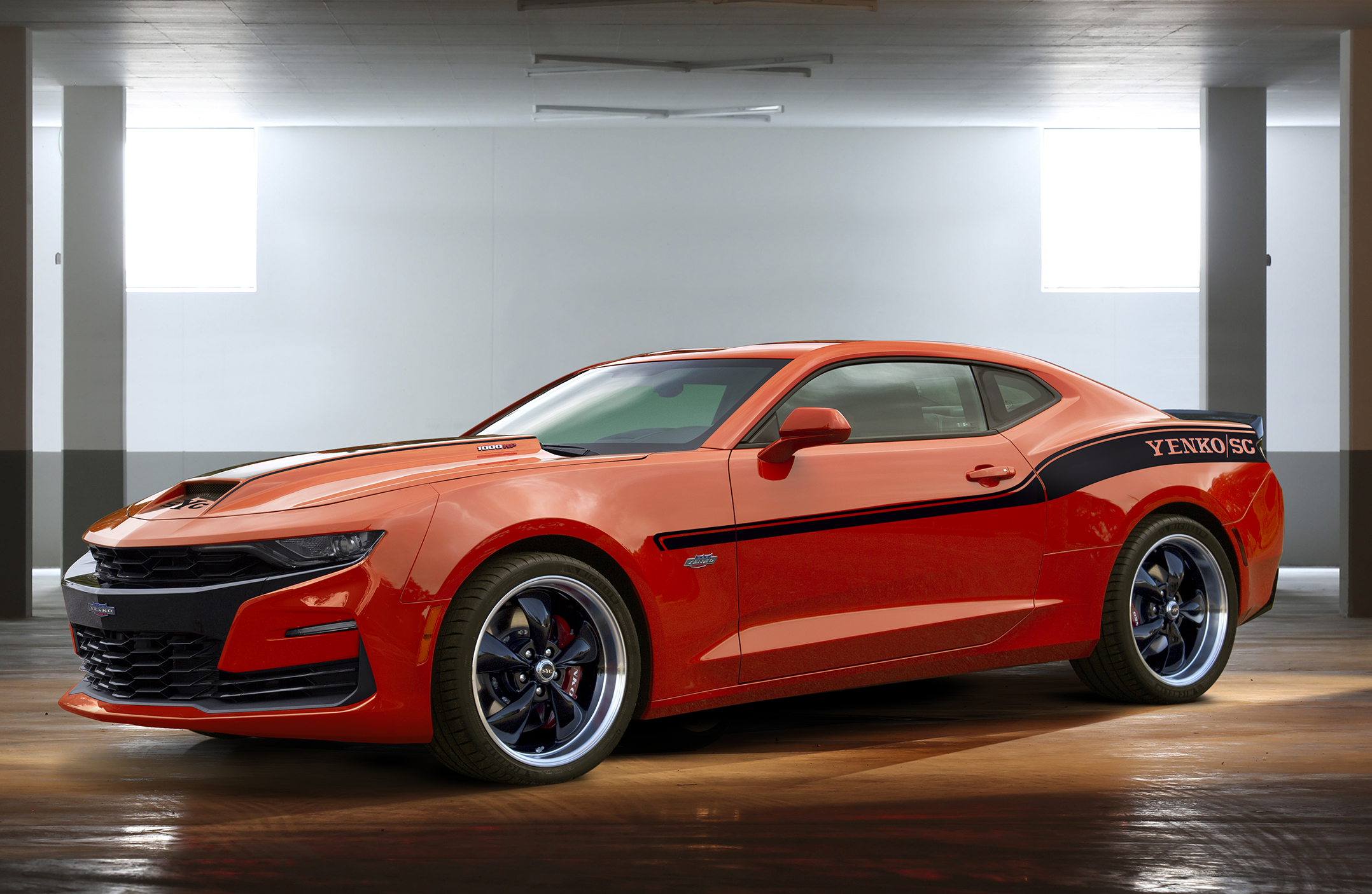 The 2019 Yenko Camaro Is a 1,000 HP Monster You Can Buy at